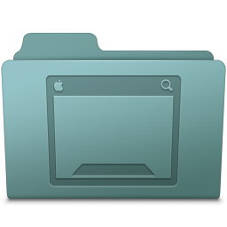 256x256px size png icon of Desktop Folder Willow