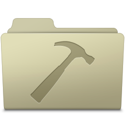 256x256px size png icon of Developer Folder Ash