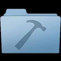 256x256px size png icon of Developer Folder Blue