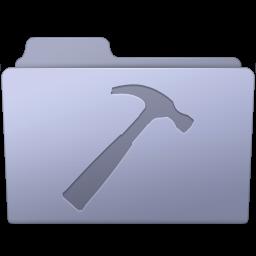 256x256px size png icon of Developer Folder Lavender