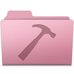 256x256px size png icon of Developer Folder Sakura