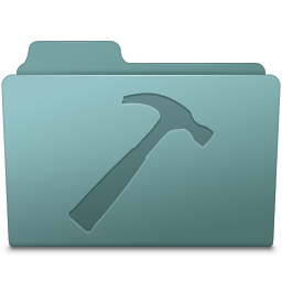 256x256px size png icon of Developer Folder Willow