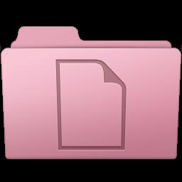 256x256px size png icon of Documents Folder Sakura