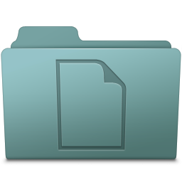 256x256px size png icon of Documents Folder Willow