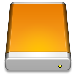 256x256px size png icon of External Drive
