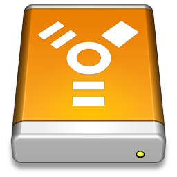 256x256px size png icon of Firewire Drive