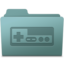256x256px size png icon of Game Folder Willow