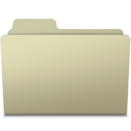 256x256px size png icon of Generic Folder Ash