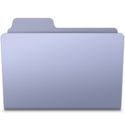256x256px size png icon of Generic Folder Lavender
