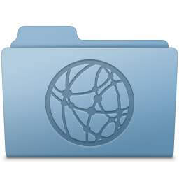 256x256px size png icon of GenericSharepoint Blue