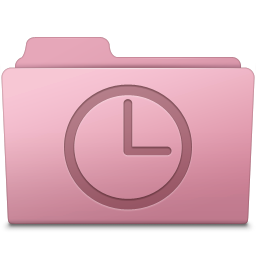256x256px size png icon of History Folder Sakura