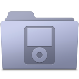 256x256px size png icon of IPod Folder Lavender