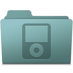 256x256px size png icon of IPod Folder Willow