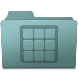 256x256px size png icon of Icons Folder Willow