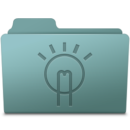 256x256px size png icon of Idea Folder Willow