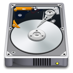 256x256px size png icon of Internal Drive Open