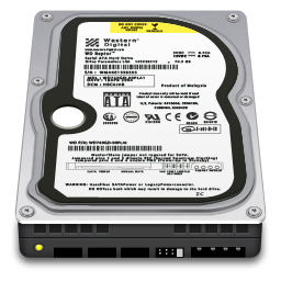 256x256px size png icon of Internal Drive WD