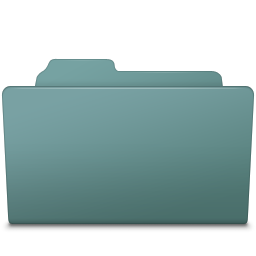 256x256px size png icon of Open Folder Willow