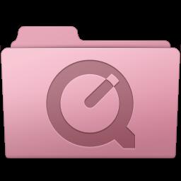 256x256px size png icon of QuickTime Folder Sakura