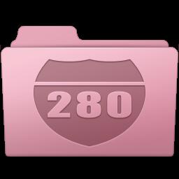 256x256px size png icon of Route Folder Sakura