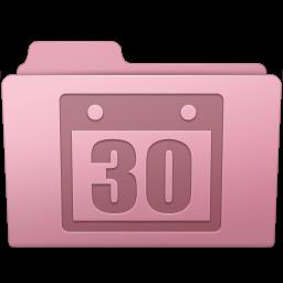 256x256px size png icon of Schedule Folder Sakura