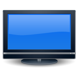 256x256px size png icon of Sidebar TV or Movie