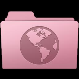 256x256px size png icon of Sites Folder Sakura