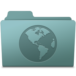 256x256px size png icon of Sites Folder Willow