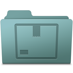 256x256px size png icon of Stock Folder Willow