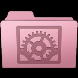 256x256px size png icon of System Preferences Folder Sakura