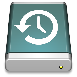 256x256px size png icon of TimeMachine Disk