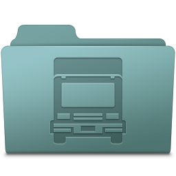 256x256px size png icon of Transmit Folder Willow