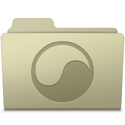 256x256px size png icon of Universal Folder Ash