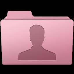 256x256px size png icon of Users Folder Sakura