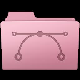 256x256px size png icon of Vector Folder Sakura