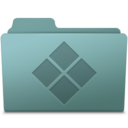 256x256px size png icon of Windows Folder Willow