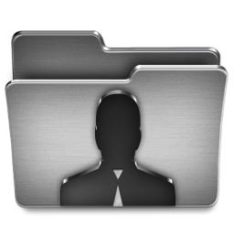 256x256px size png icon of User