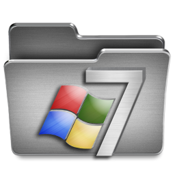 256x256px size png icon of Windows 7