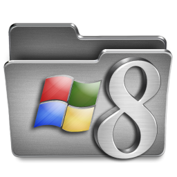 256x256px size png icon of Windows 8