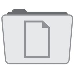 256x256px size png icon of Folder Documents