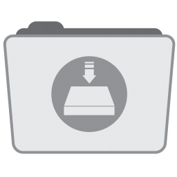 256x256px size png icon of Folder Server