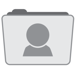 256x256px size png icon of Folder Users