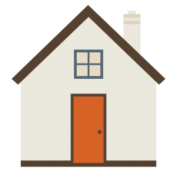 256x256px size png icon of Big Home