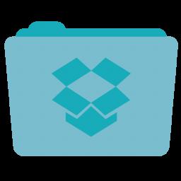256x256px size png icon of Folder Dropbox