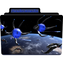 256x256px size png icon of Andromeda 5