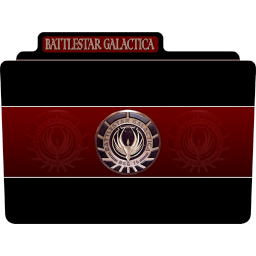 256x256px size png icon of Battlestar Galactica 1