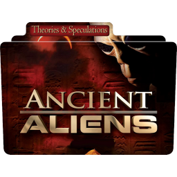 256x256px size png icon of Documentaries Ancient Aliens 1