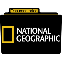 256x256px size png icon of Documentaries National Geographic