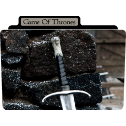 256x256px size png icon of Game of Thrones 8