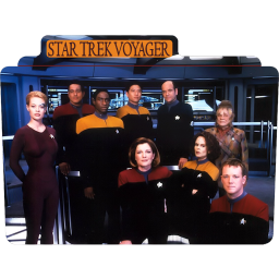 256x256px size png icon of Star Trek Voyager 1